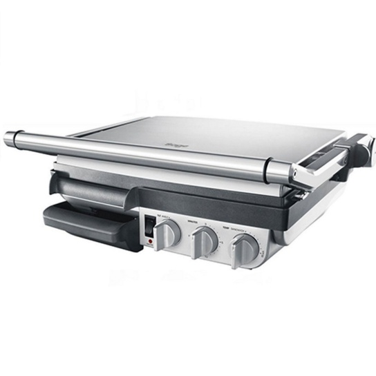 The BBQ Grill Brushed Stainless Steel