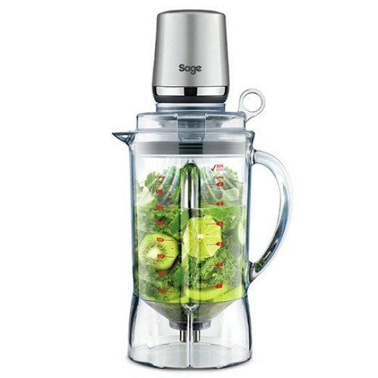 the vac Q™ Blender in silver easy assembly