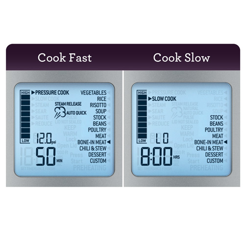 sage the fast slow pro bpr700 cookers. Black Bedroom Furniture Sets. Home Design Ideas