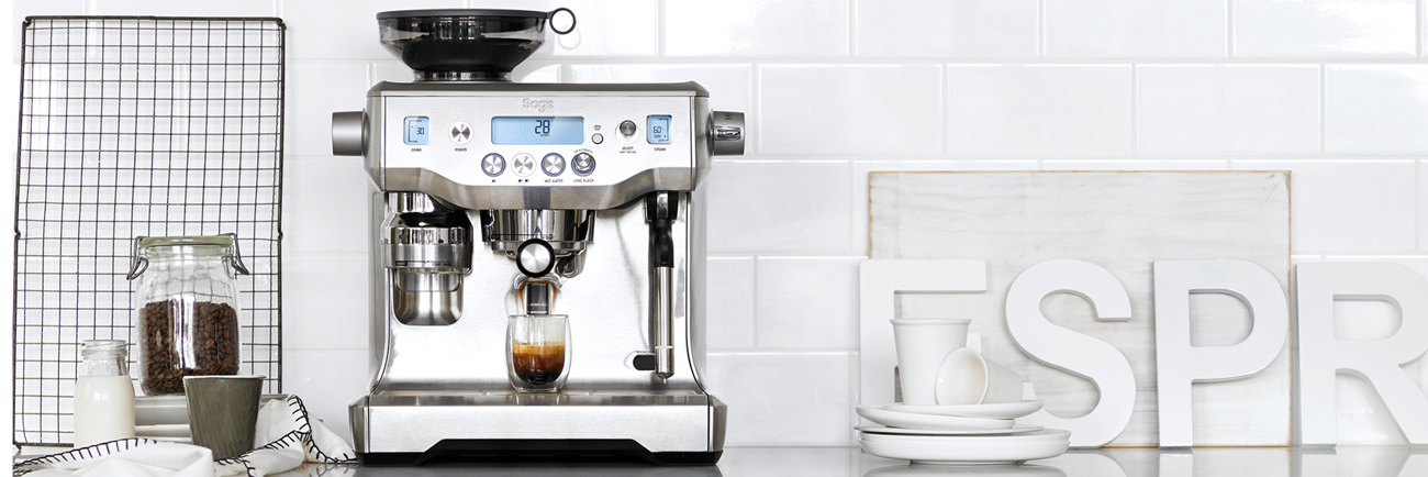 the Oracle Espresso Machine in Brushed Stainless Steel
