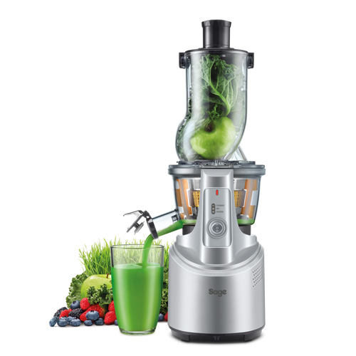 the Big Squeeze™ Juicers in Silver big squeeze technology