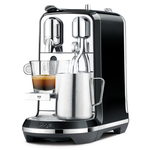Creatista™ Nespresso in Salted Liquorice convenience without compromise