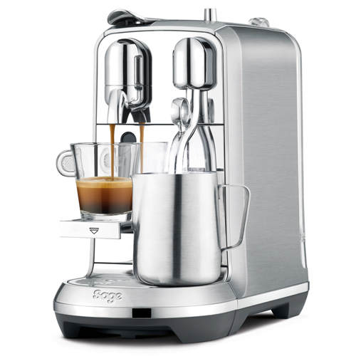 Creatista™ Plus Nespresso in Brushed Stainless Steel convenience without compromise