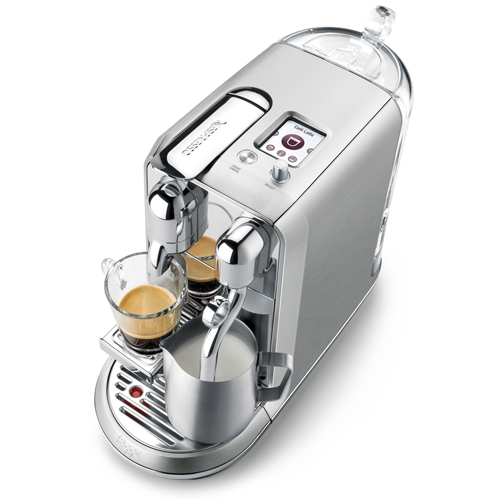 Creatista™ Plus Nespresso in Brushed Stainless Steel create your favourite coffee with ease