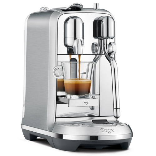Creatista™ Plus Nespresso in Brushed Stainless Steel auto clean function