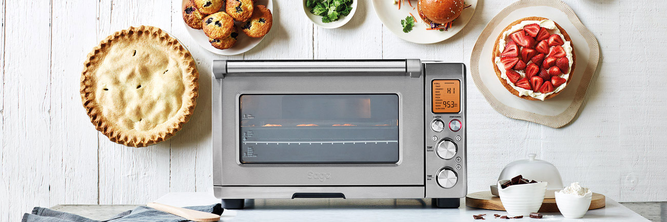 the Smart Oven Pro in Brushed Stainless Steel