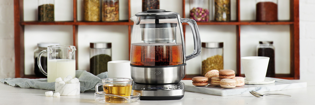 the Tea Maker™ Bollitore per tè con infusore in Argento