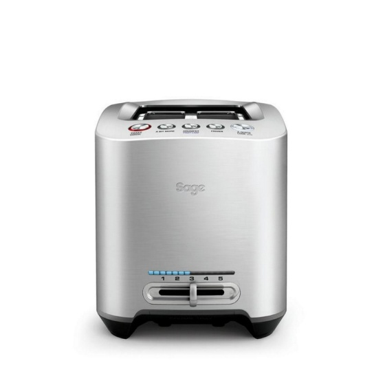 The Smart Toast™ 2-Slice Toaster Silver