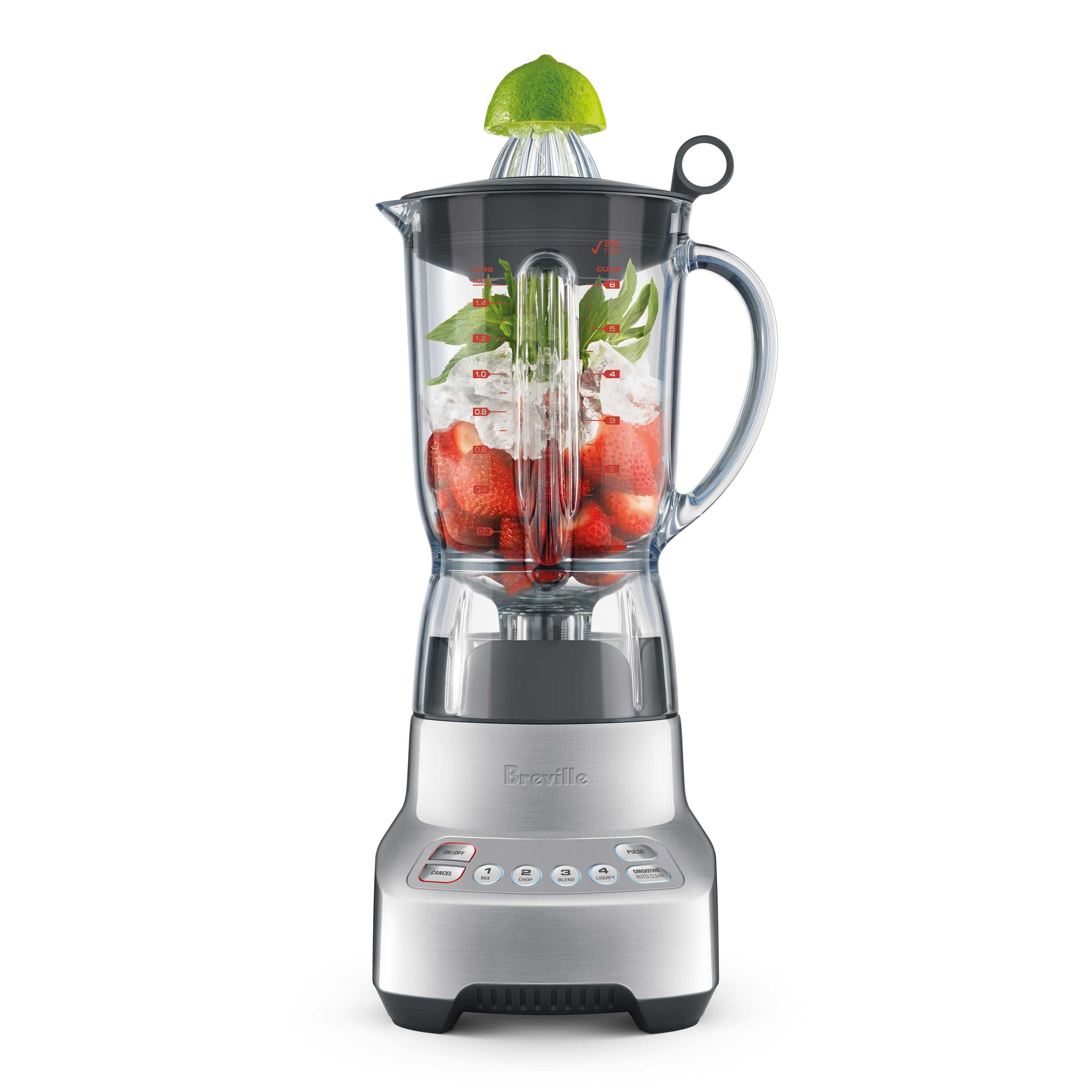 the Kinetix® Twist Blenders in Brushed Aluminium the best of both worlds