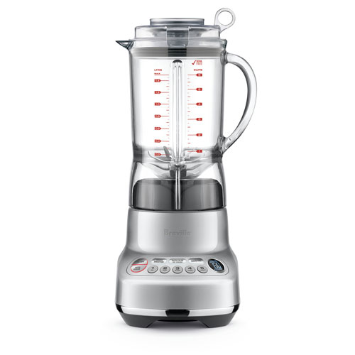 the Fresh & Furious™ Blenders in Silver one-touch versatility