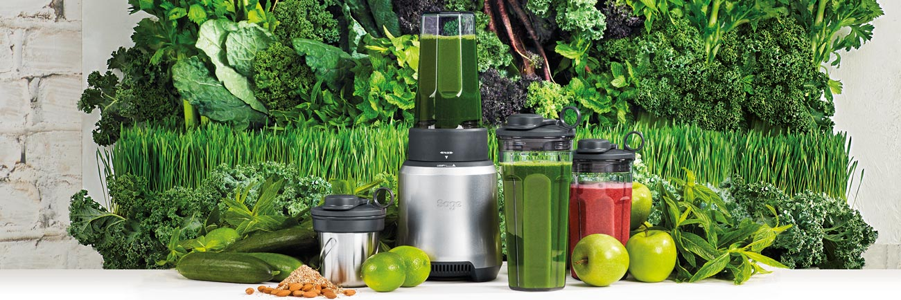 the Sage Boss™ To Go Blenders in Geborsteld aluminium