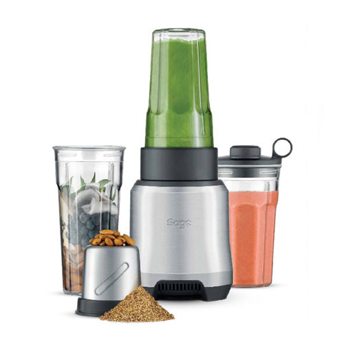 the Sage Boss™ To Go Plus Standmixer in Gebürstetes Aluminium smooth edge tritan®-becher