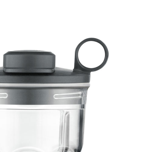 the Sage Boss™ To Go Plus Blenders in Brushed Aluminium sage assist™ lid