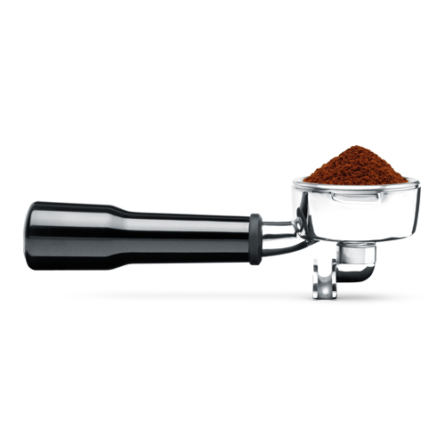 the Smart Grinder Pro Coffee Grinder in Brushed Stainless Steel dosing iq