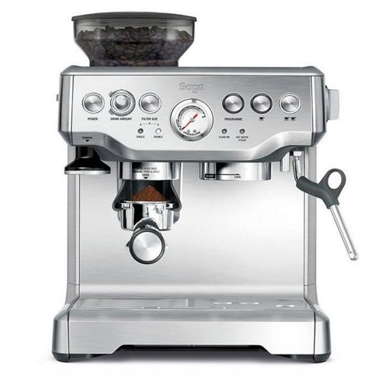 the Barista Express™ Brushed Stainless Steel