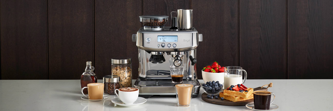 the Barista Pro™ Espresso in Brushed Stainless Steel