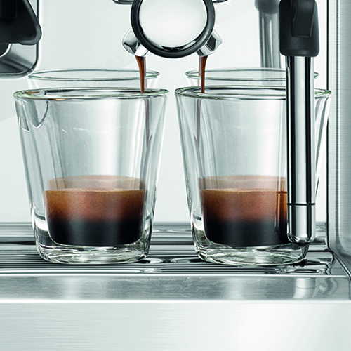the Barista Touch™ Espresso in Geborsteld roestvrij staal handsfree bediening