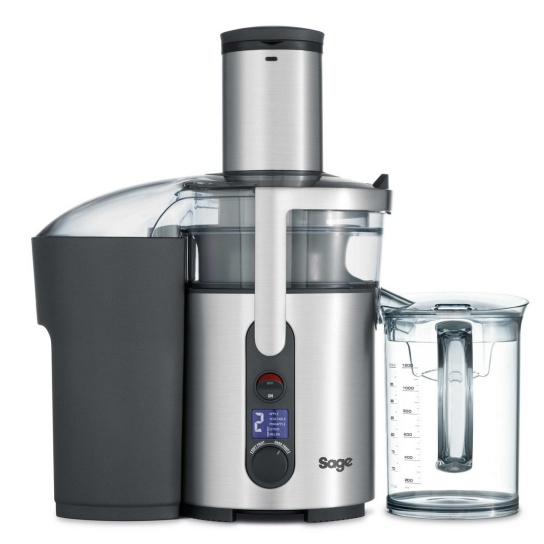 the Nutri Juicer® Plus Brushed Stainless Steel