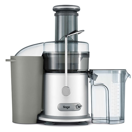 the Nutri Juicer® Classic Entsafter in Silber 1 l saftbehälter mit schaumtrenner