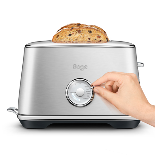 the Toast Select™ Luxe in Brushed Stainless Steel VARIABLE BROWNING CONTROL