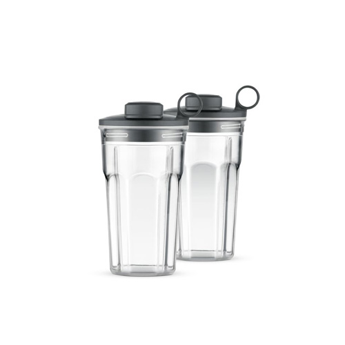 the Boss To Go™ Blenders in Brushed Aluminium two on-the-go tumblers