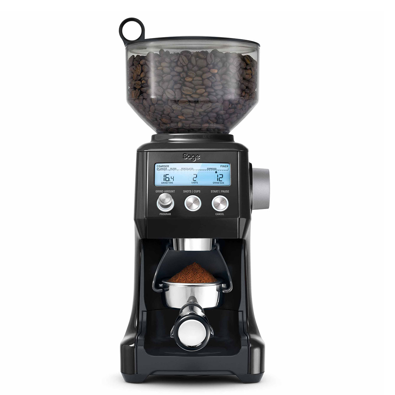 Sage Smart Grinder Pro in Black Truffle SC9820BTR**FREE /& FAST DELIVERY**