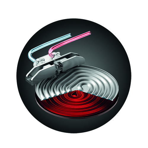 the Bambino® Plus Espresso in Brushed Stainless Steel 3 second heat up time
