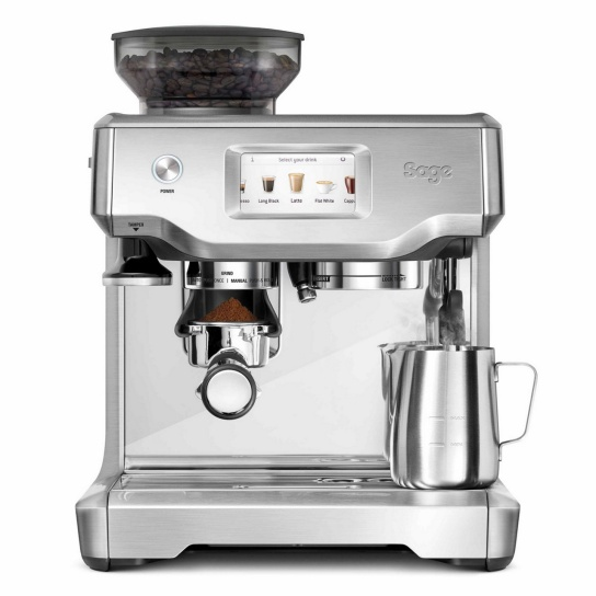 the Barista Touch™ Brushed Stainless Steel