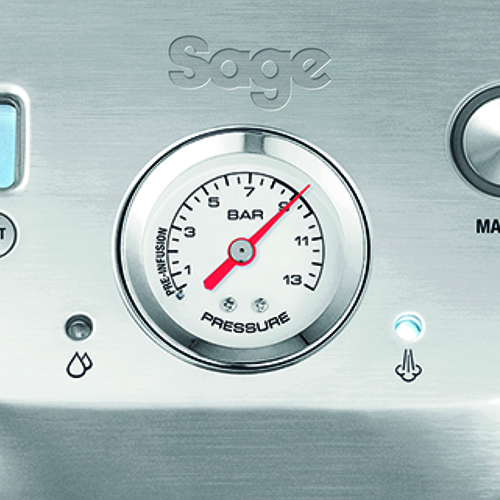 the Dual Boiler™ Espresso in Brushed Stainless Steel  with LCD display