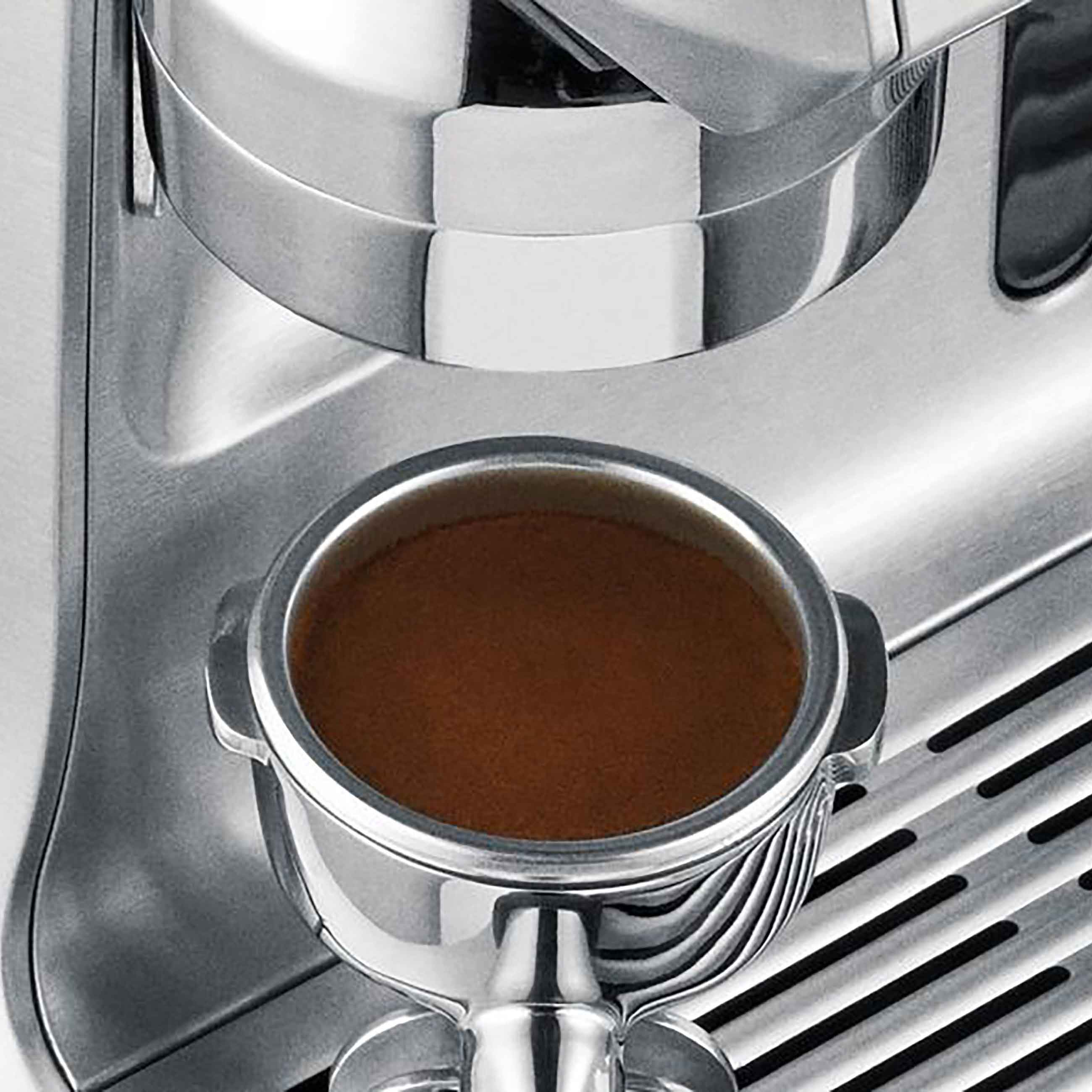 the Oracle Espresso Machine in Brushed Stainless with Portafilter