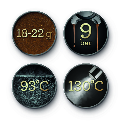 the Oracle™ Espresso in Brushed Stainless Steel auto grind and tamp