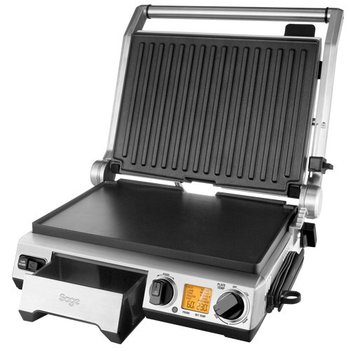 the Smart Grill™ Pro Grills & Sandwich Makers in Brushed Stainless Steel dishwasher safe removable plates