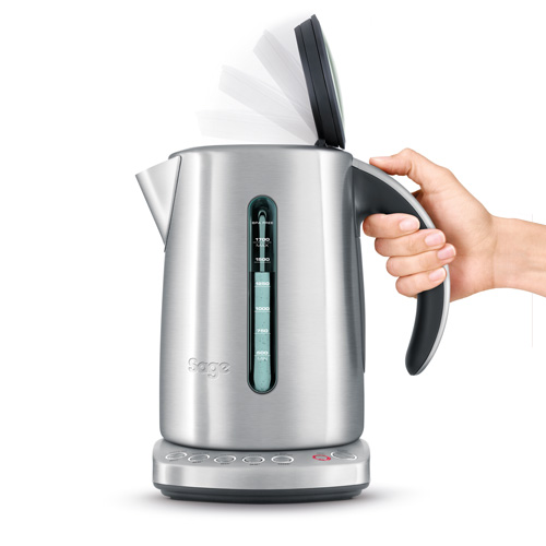 the Smart Kettle™ Kettle in Silver soft top™ lid