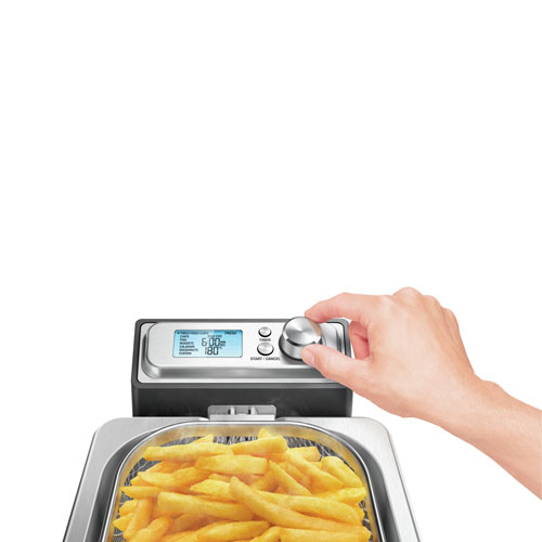 the Smart Fryer™ Woks, Skillets & Deep Fryers in Silver perfect cooking selections