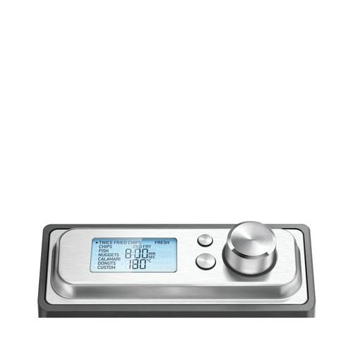 the Smart Fryer™ Woks, Skillets & Deep Fryers in Silver lcd digital control
